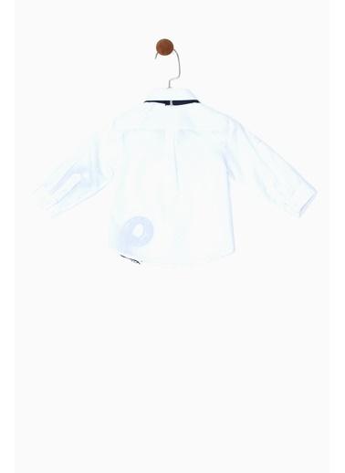 BG Baby Erkek Bebek Beyaz Gömlek 19SS0BG1603 Beyaz